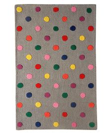 Little Looms Candy Polka Dot Rug - Multicolour