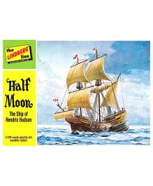 Lindberg USA 1/170 Scale Half Moon Plastic Model Construction Kit