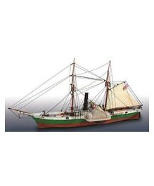 Lindberg Civil War Blockade Runner Plastic Model Kit