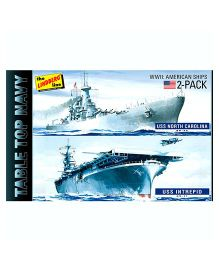 Lindberg Navy Ship Model Kit - Pack Of 2