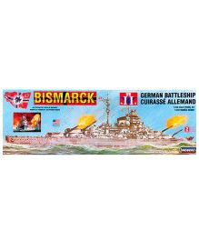 Lindberg Bismark German Battleship Model Kit
