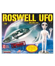 Lindberg Roswell UFO With Alien Crew Plastic Model Kit