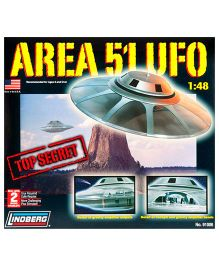 Lindberg Area 51 UFO Plastic Model Kit