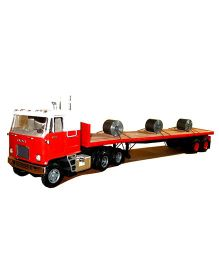 AMT Fruehauf Flatbed Trailer Plastic Model Kit