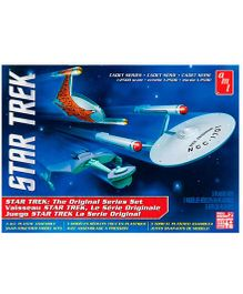 AMT Star Trek Cadet TOS Era Ships Model Kit