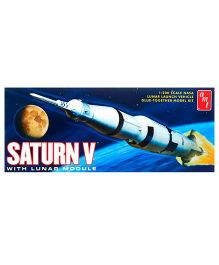 Amt Saturn V Rocket Plastic Model Kit