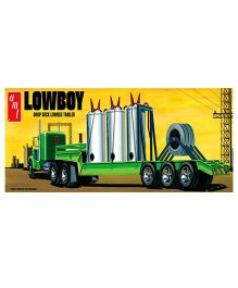 Amt Lowboy Trailer Model Kit