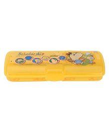 Pratap Trend Chhotu + Motu  Pencil Box 2 - Yellow