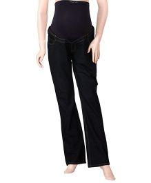 Uzazi Full Length Maternity Jeans - Black