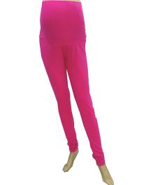 Uzazi Full length Maternity Leggings Pink - Small
