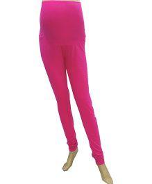 Uzazi Full length Maternity Leggings Pink - Large