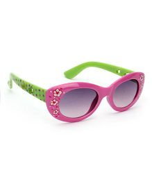 Stol'n Kids Sunglasses Cloral Print - Purple and Green