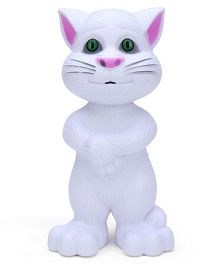 Smiles Creation Talking Tom White - Height 20 cm