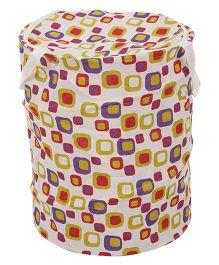 Foldable Square Print Storage Bags