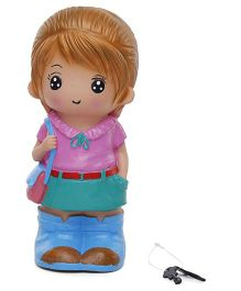 Speedage Jennifer Money Bank Toy (Color May Vary)