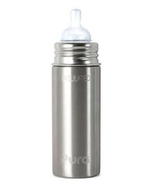 Pura Insulated Bottle - Silver