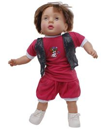 Speedage Ayush Baba Doll - Dark Red