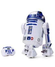 Star Wars R2 D2 Interactive Robotic Droid - White and Blue