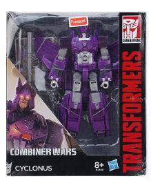 Transformers Combiner Wars Cyclonus Figure - Purple