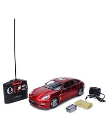 MZ Panamera Remote Controlled Car Toy - Red