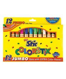Stic Jumbo Sketch Pens - Set of 12