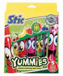 Stic Yummies Sketch Pens - Set of 5