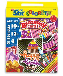 Stic Colorstix Birthday Cards Set