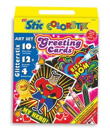 Stic Colorstix Greeting Cards Set