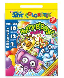 Stic Colorstix Happy B'Day Masks Set