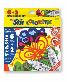 Stic Colorstix Sketch Pens - 8
