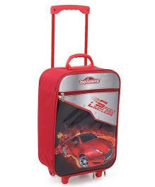 Majorette Speed Timeless Luggage Trolley Bag - Red