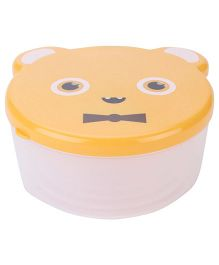 Lunch Boxes Pack of 4 Bear Shaped - Orange