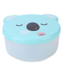 Lunch Boxes Pack of 4 Bear Shaped - Teal