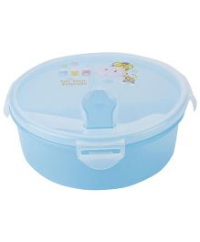 Lunch Box With Im Your Friend Print - Blue