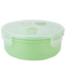 Froggy Print Lunch Box - Green