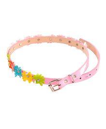 D'chica Spring Love Flowery Belt -  Pink