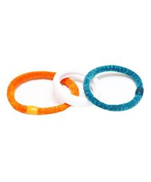 D'chica Attractive Love Rubber Band Set Of 3 - Multicolour