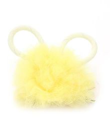 Anaira Bunny Clip with Frills - Yellow