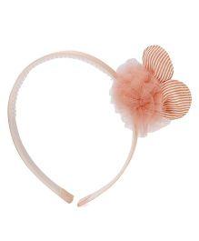 Anaira Bunny Hair Band - Peach