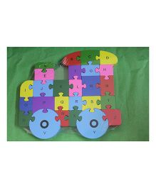Playthings Train Wooden Puzzle Type 2