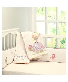 Little West Street Chirpy Friends Quilt - Multicolor
