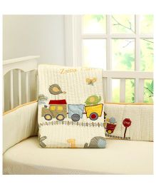 Little West Street Choo Choo Friends Quilt - Multicolor