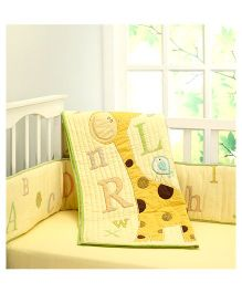 Little West Street ABCs With Gizzie Quilt - Multicolor