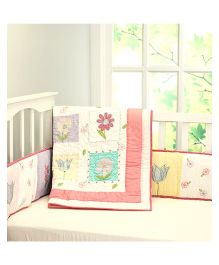Little West Street La Fleur Quilt - Multicolor