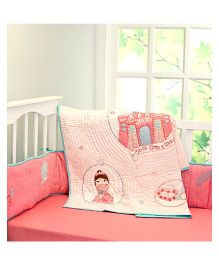Little West Street Once Upon A Time Quilt - Pink