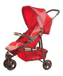 Notty Ride Stroller Red - HWT-0308