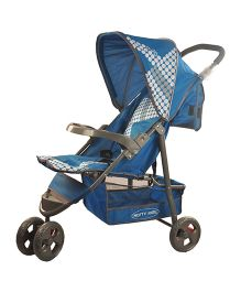Notty Ride Stroller Blue - HWT-0309