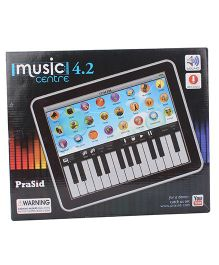 Prasid Music Learning Centre Synthesizer With Key - Black