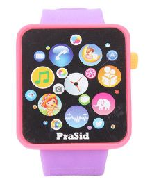 Prasid English Learner Smart PWatch - Pink Purple