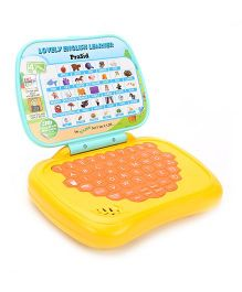 Prasid English Learner Kids Laptop - Orange